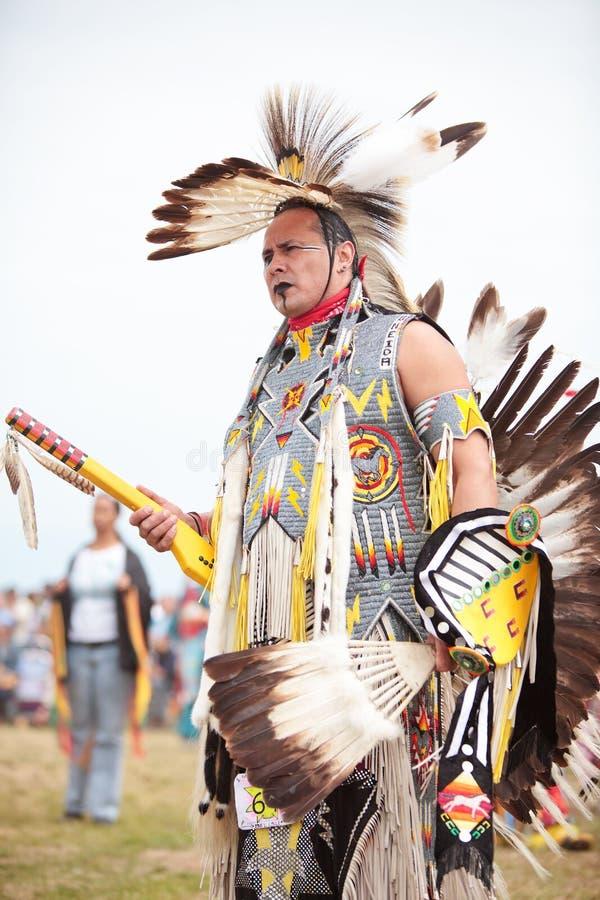Gebürtiger Indianer lizenzfreie stockfotos