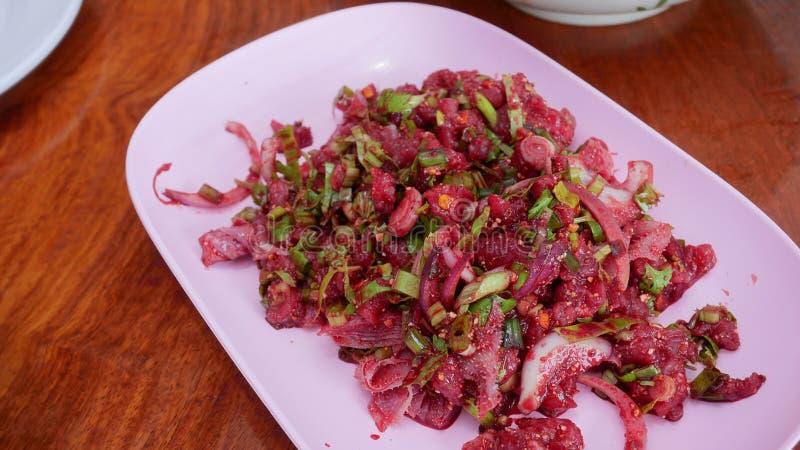 Gebürtiges thailändisches Lebensmittel lizenzfreies stockfoto