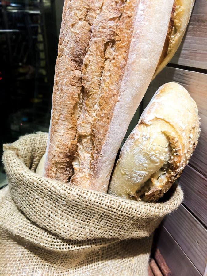 Gebackene Brote lizenzfreie stockfotos
