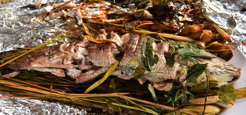 Gebackene Fische lizenzfreie stockfotos