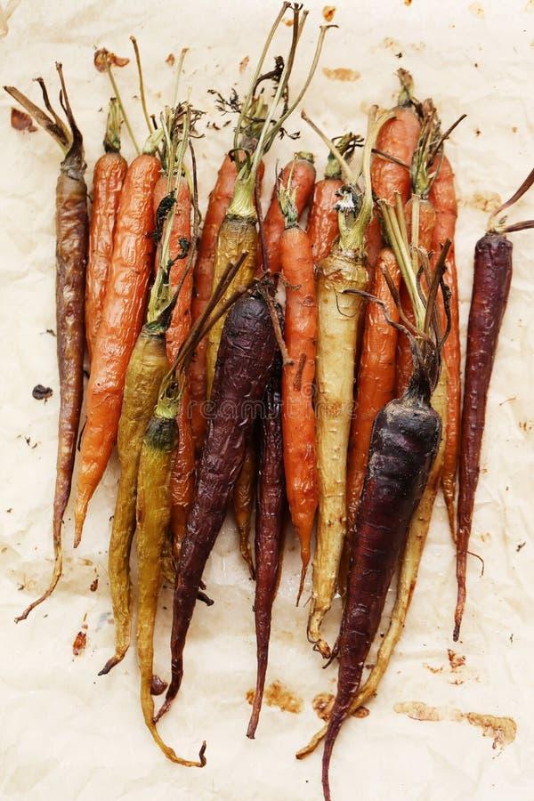 Gebackene Karotten lizenzfreie stockfotografie
