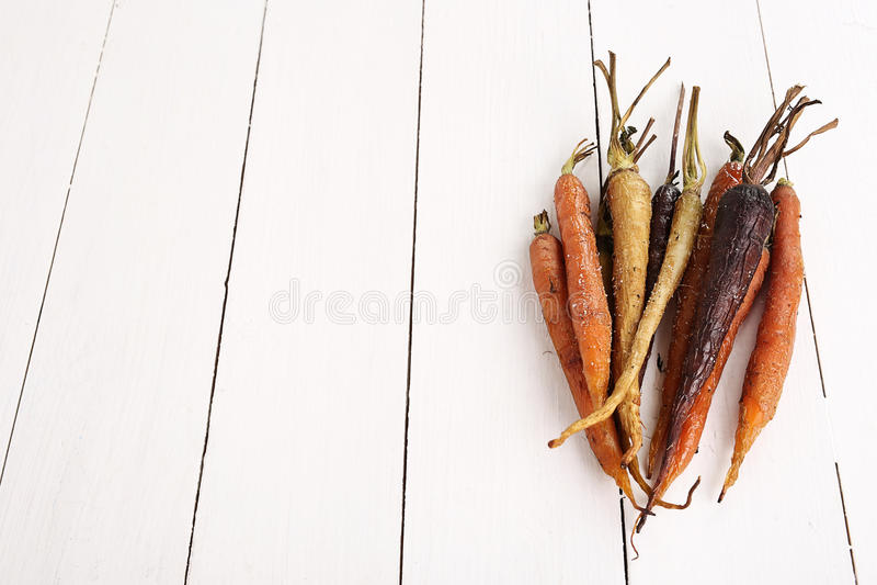 Gebackene Karotten lizenzfreies stockfoto