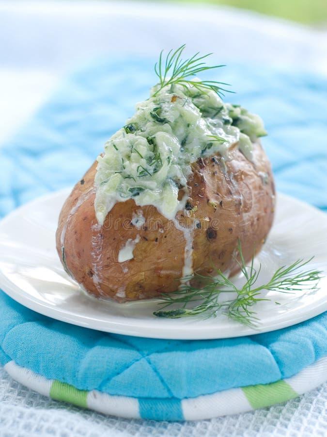 Download Gebackene Kartoffel stockfoto. Bild von niemand, gemüse - 26352828