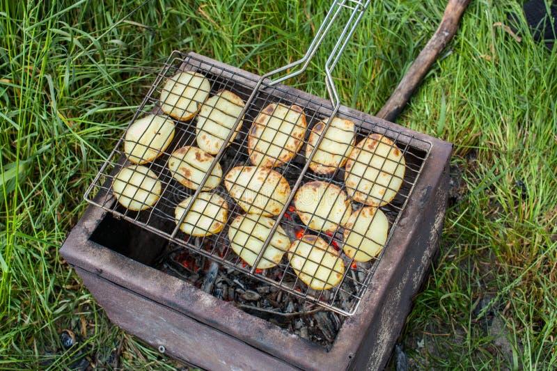 Gebackene Kartoffeln lizenzfreies stockfoto