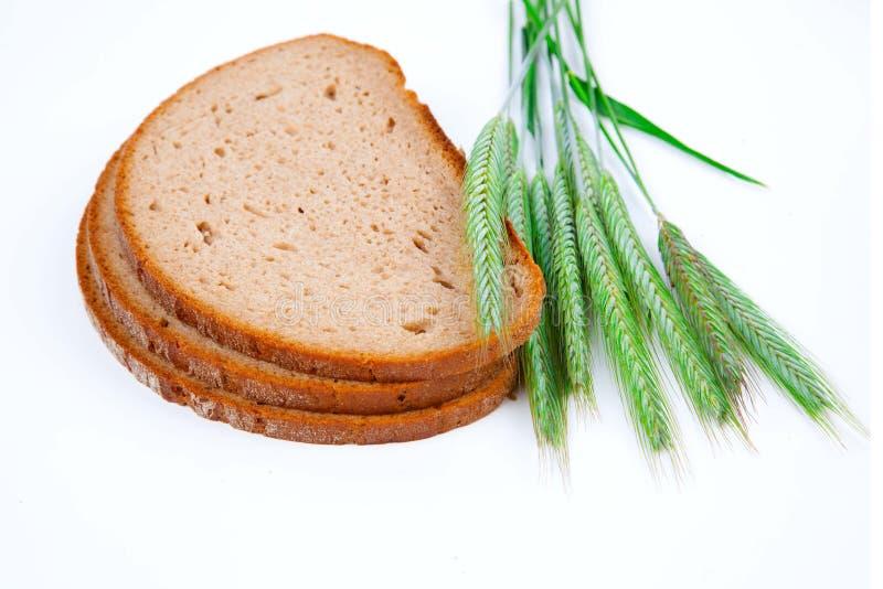 Gebakken brood met oren, royalty-vrije stock fotografie