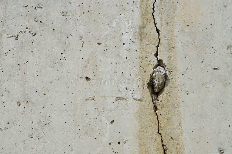 Gebarsten Concrete Muur royalty-vrije stock foto's