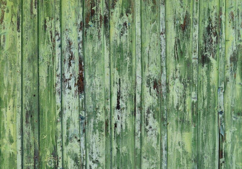 Gebarsten groene verf stock afbeeldingen