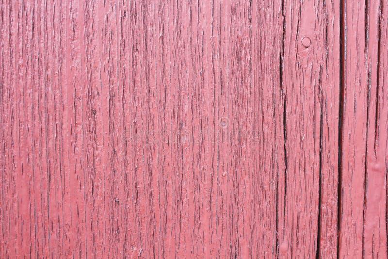 Gebarsten houten plank, stock afbeelding