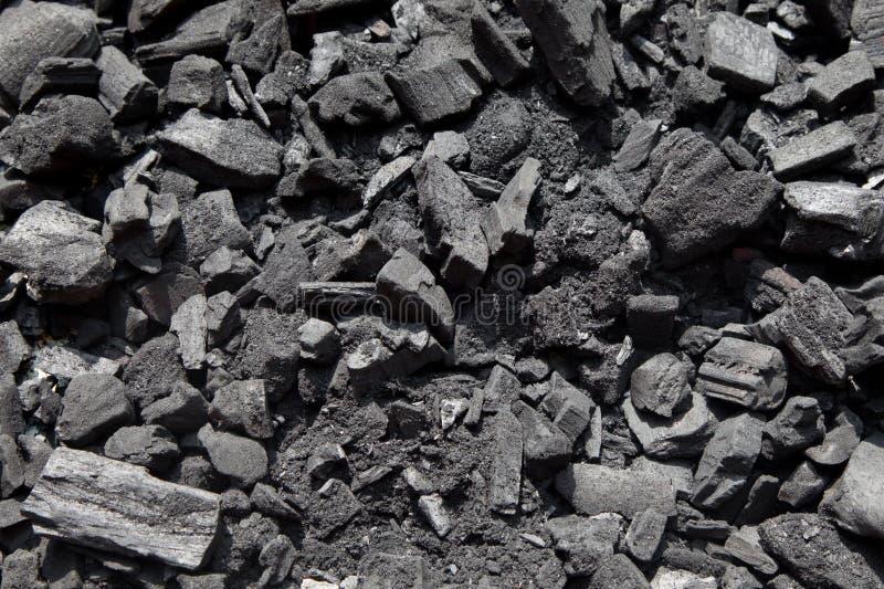 Gebarsten Koolstof stock afbeelding