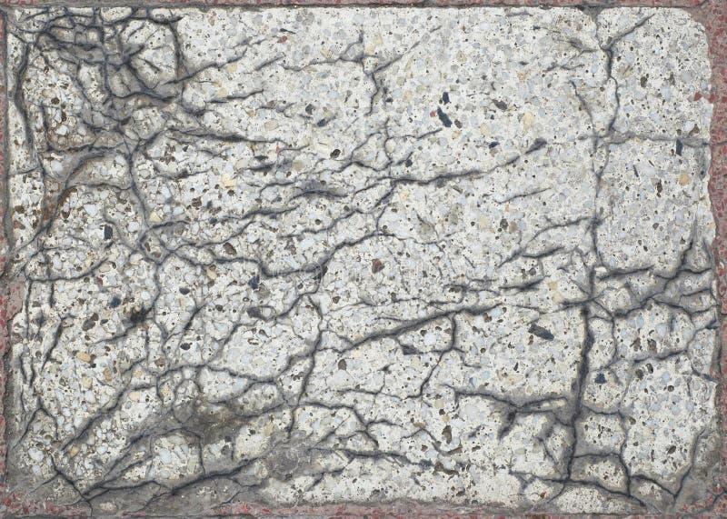 Gebarsten marmeren plak grunge textuur stock fotografie