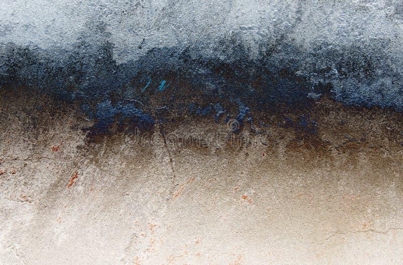 Gebarsten muurachtergrond. royalty-vrije stock afbeelding