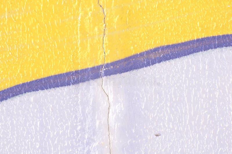 Gebarsten muurachtergrond stock foto's