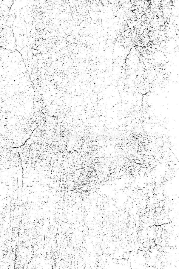Gebarsten pleistertextuur stock illustratie