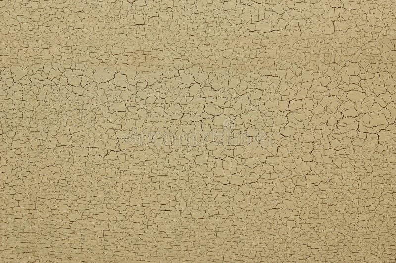 Gebarsten verf op muur royalty-vrije stock afbeelding
