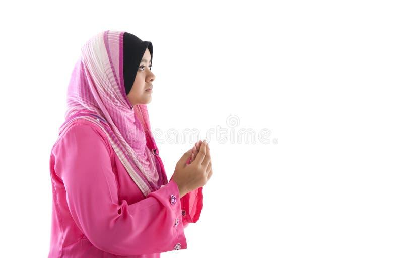 Gebed stock foto