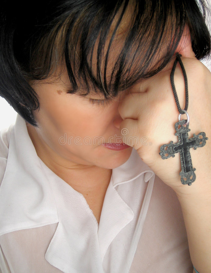 Gebed stock afbeelding