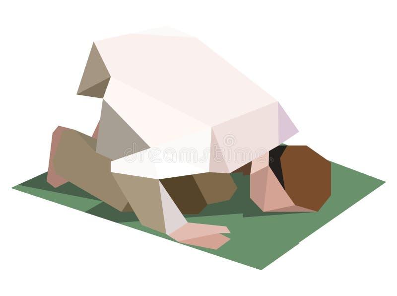 Gebed vector illustratie