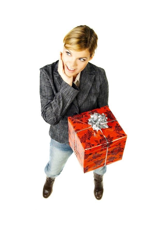 Geben Sie ein Geschenk 2 lizenzfreies stockfoto