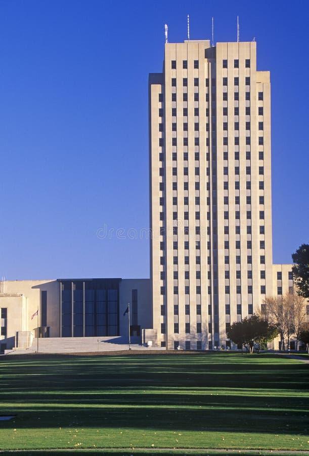 Geben Sie Kapitol von North Dakota an lizenzfreie stockfotos