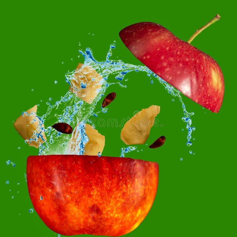 Geben Sie mir einen Apfel lizenzfreies stockbild