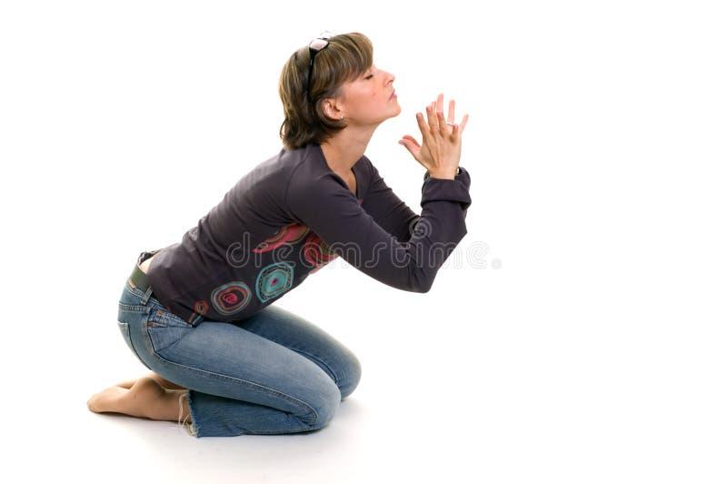 Gebete lizenzfreie stockbilder