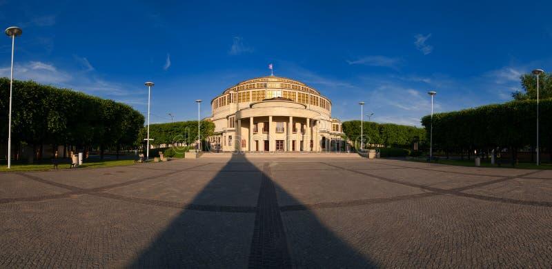 Gebeurtenissenzaal - Wroclaw royalty-vrije stock foto