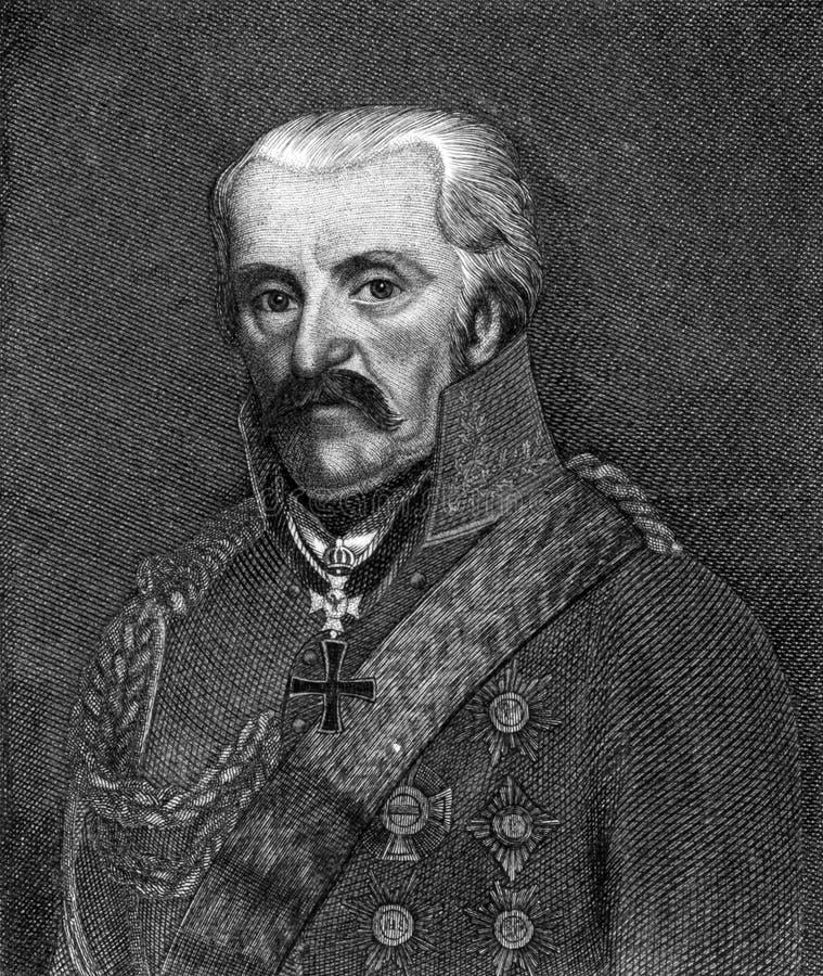 Gebhard Leberecht von Blucher стоковое изображение