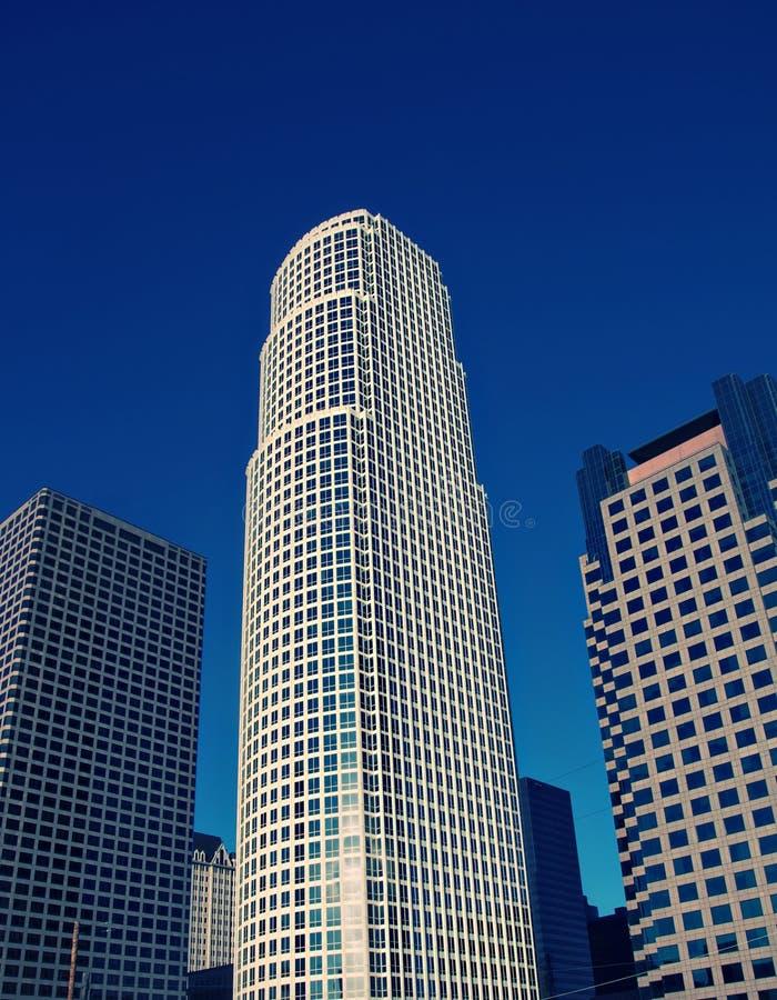 Gebied het van de binnenstad van Los Angeles stock foto's