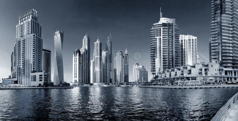 Gebied van Doubai - de Jachthaven van Doubai stock fotografie