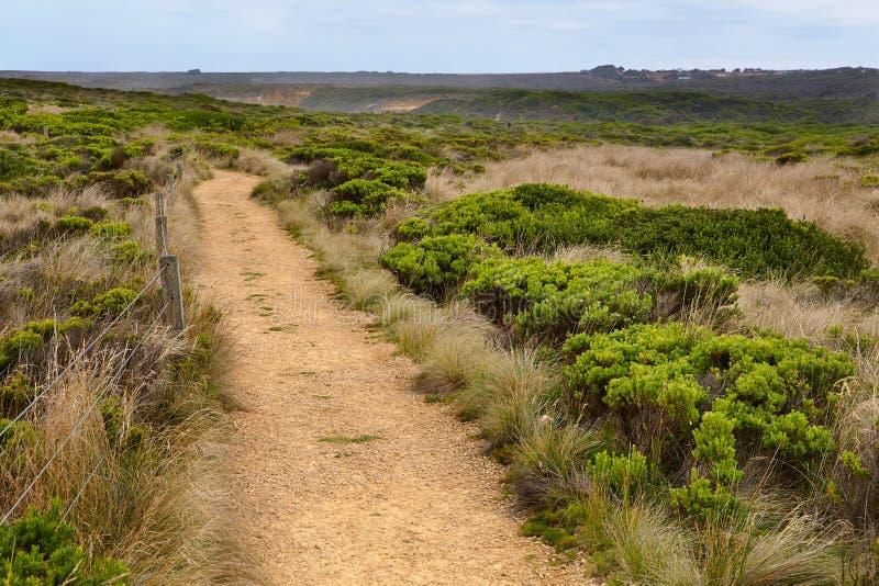 Gebieden van Australisch wild landschap royalty-vrije stock foto's
