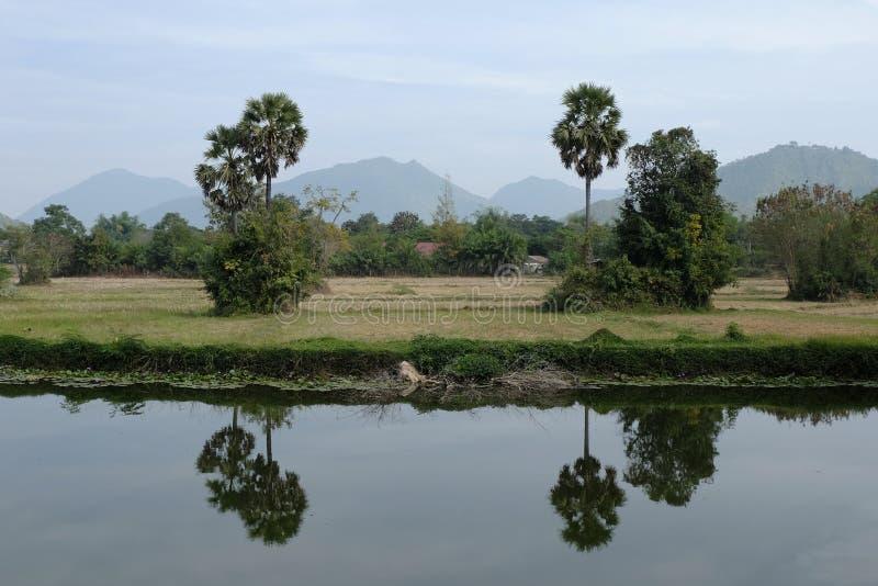 gebieds uitstekend landschap Thailand royalty-vrije stock afbeelding