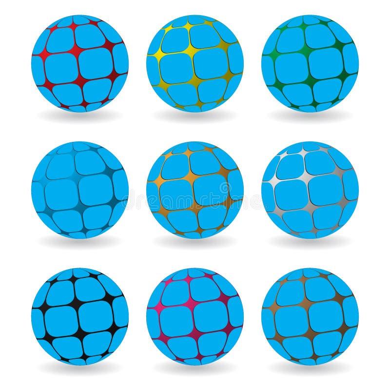 Gebiedsamenvatting vector illustratie