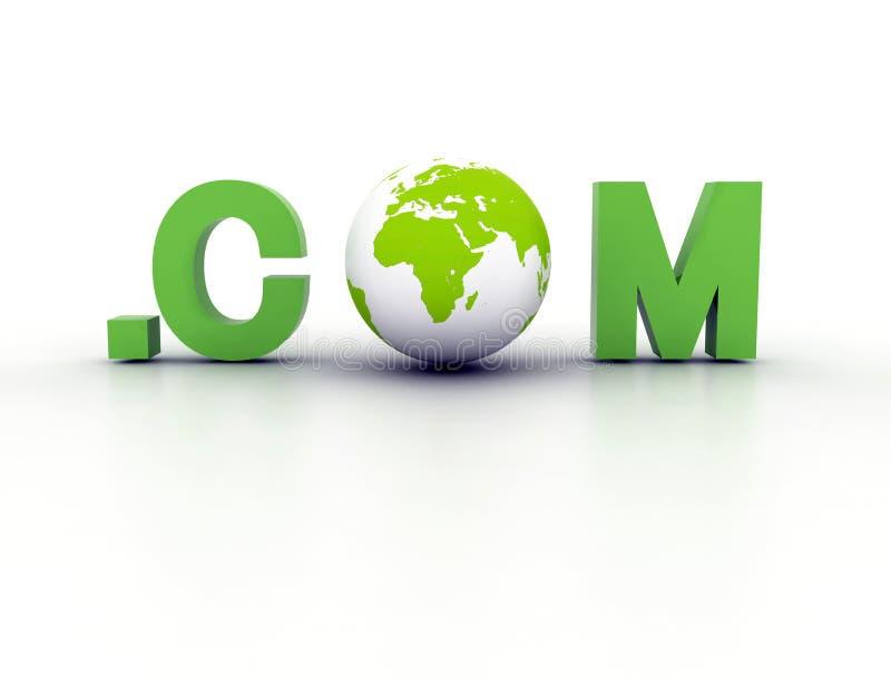 Gebietsweltcom lizenzfreie abbildung