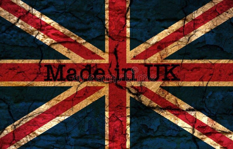 Gebildet in Großbritannien lizenzfreie abbildung