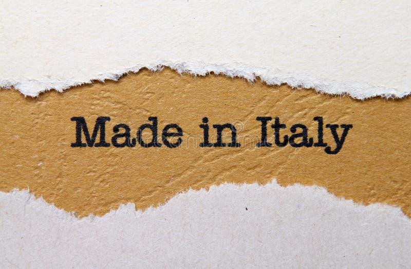 Gebildet in Italien stockbilder