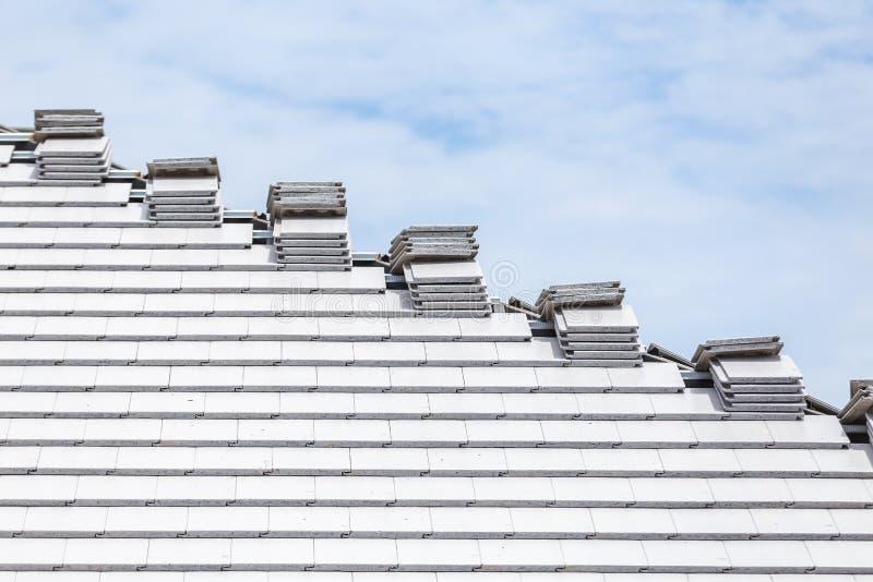 Gebildet, um einem alten hölzernen Dach zu ähneln stockbilder