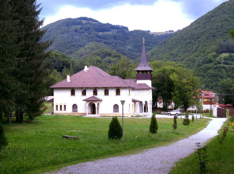 Gebirgskloster stockfoto