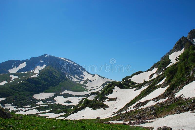 Download Gebirgslandschaft stockfoto. Bild von unkraut, gras, berg - 12202900