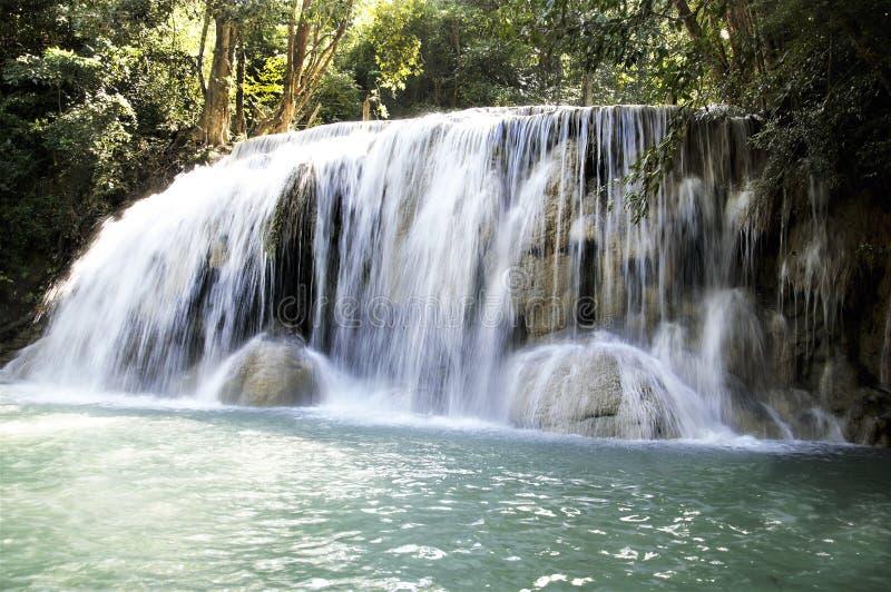 Gebirgswasserfälle von Thailand stockbild