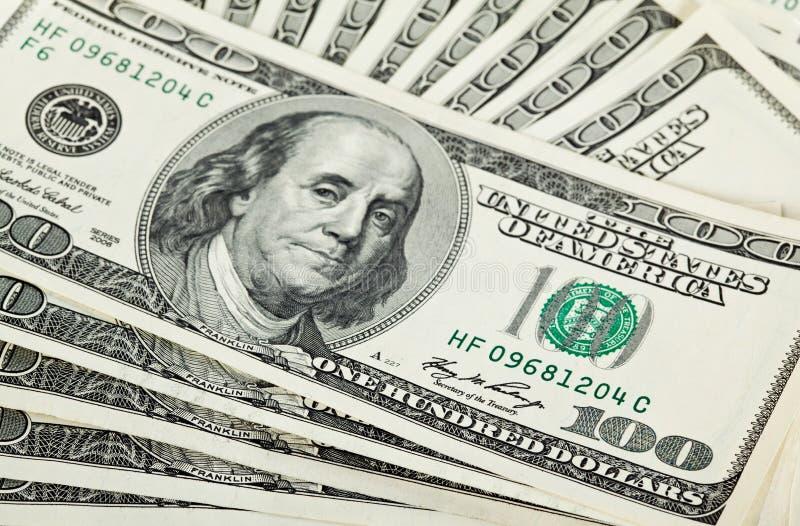 Gebläse der Dollarbanknoten lizenzfreies stockfoto