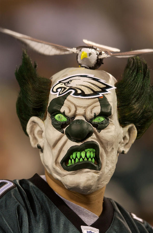 Gebläse Philadelphia-Eagles lizenzfreie stockfotos