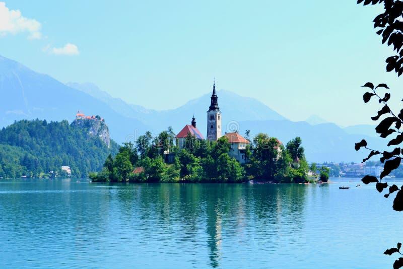 Geblutet, Slowenien stockfoto
