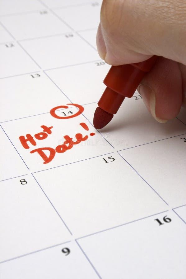 Download Geboekt Voor Een Hete Datum! Stock Afbeelding - Afbeelding bestaande uit sexy, agenda: 296371