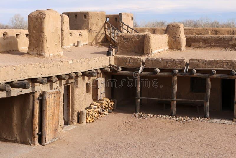 Gebogen Oude het Fort Nationale Historische Plaats van ` s royalty-vrije stock foto's