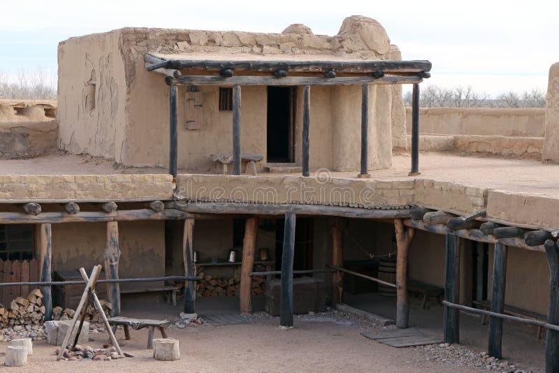 Gebogen Oude het Fort Nationale Historische Plaats van ` s royalty-vrije stock afbeeldingen