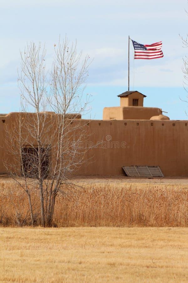 Gebogen Oude het Fort Nationale Historische Plaats van ` s stock foto