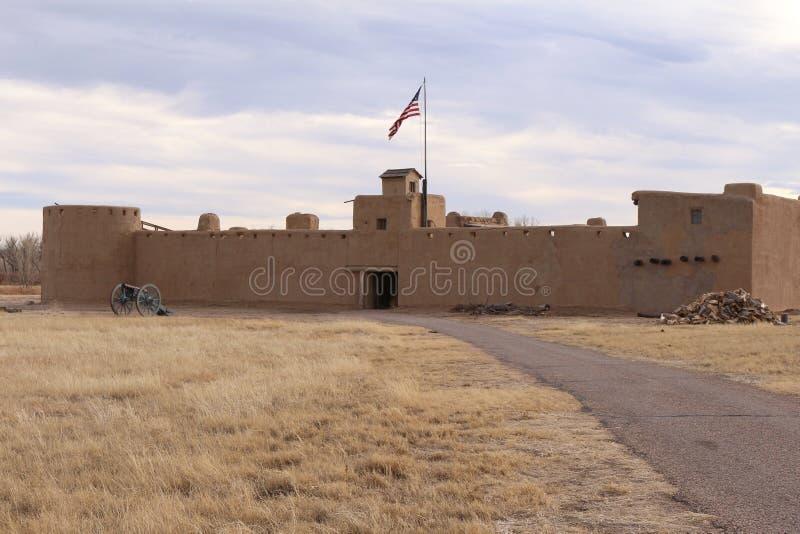 Gebogen Oude het Fort Nationale Historische Plaats van ` s stock afbeeldingen