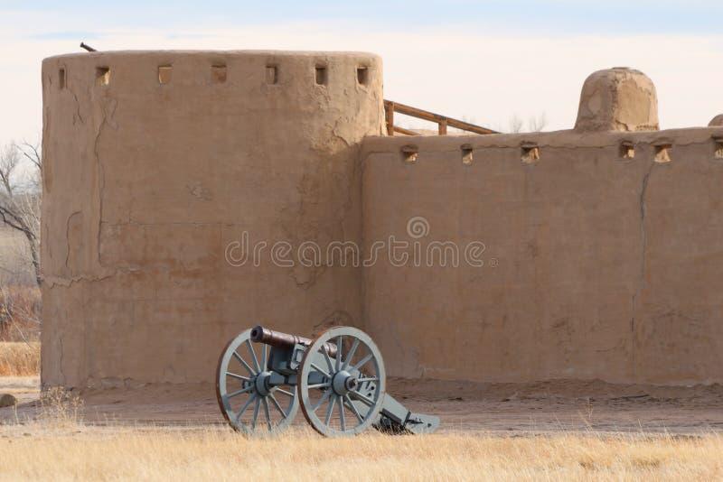 Gebogen Oude het Fort Nationale Historische Plaats van ` s royalty-vrije stock fotografie