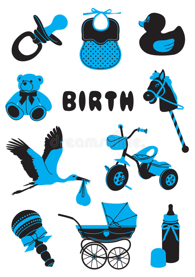 Geboorte vector illustratie