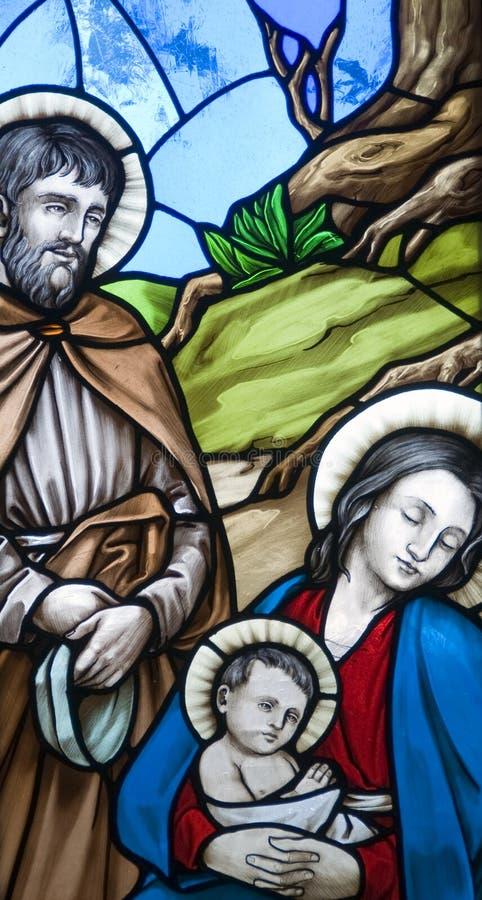 Geboorte van Christus royalty-vrije stock foto's